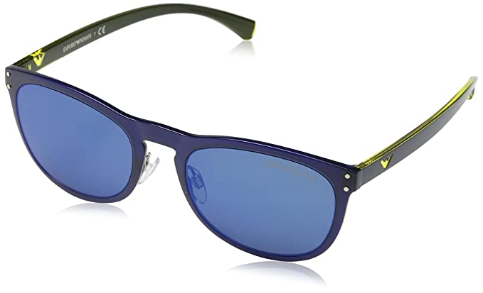 Emporio Armani 0EA4098 556355, Montures de Lunettes Femme, Bleu (Blu Blue  Blue), 54  Amazon.fr  Vêtements et accessoires e4d46054123c