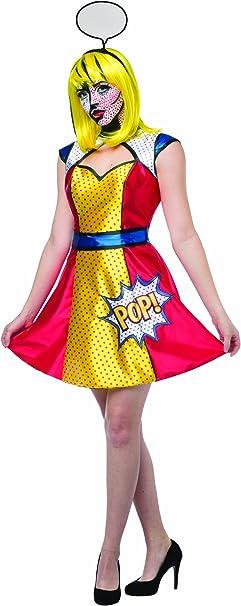 Disfraz de Pop Art para mujer: Amazon.es: Juguetes y juegos