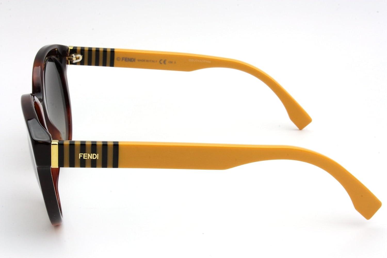 17470a452d3 Amazon.com  Fendi Sunglasses - 0013 S   Frame  Havana Lens  Gray Gradient   Shoes