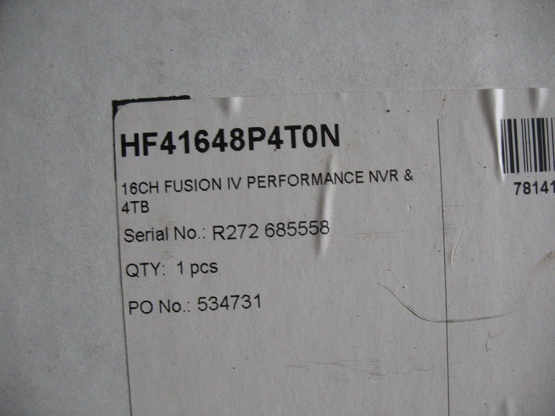 HONEYWELL VIDEO HF41648P4T0N 16CH FUSION IV PLUS PERFORMACE PKG 4000GB