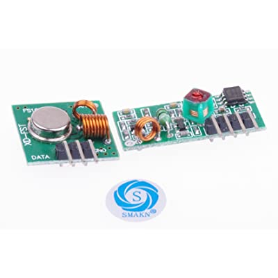 SMAKN 433Mhz Rf Transmitter and Receiver Link Kit for Arduino/Arm/McU: Computers & Accessories