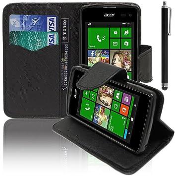 Acer Liquid M220 Z220 Etui HCN PHONER Housse Portefeuille Clapet Folio Livre