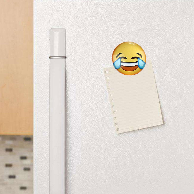 Vetro lavagna magnetica messaggio 12PCS planetario modello del frigorifero per cucina Decor Niceeshop 3 cm TM Set di calamite da frigo armadi ufficio 12 Emoji