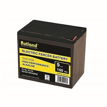 9 V eléctrico Esgrima batería Rutland alta calidad Empresas ...
