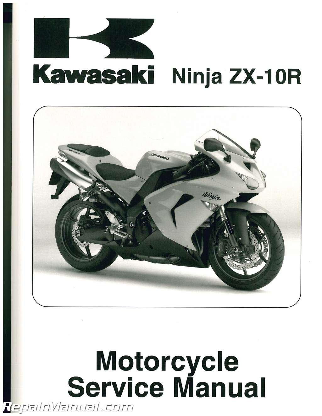 99924-1365-03 2006-2007 Kawasaki NINJA ZX-10R Service Manual ...