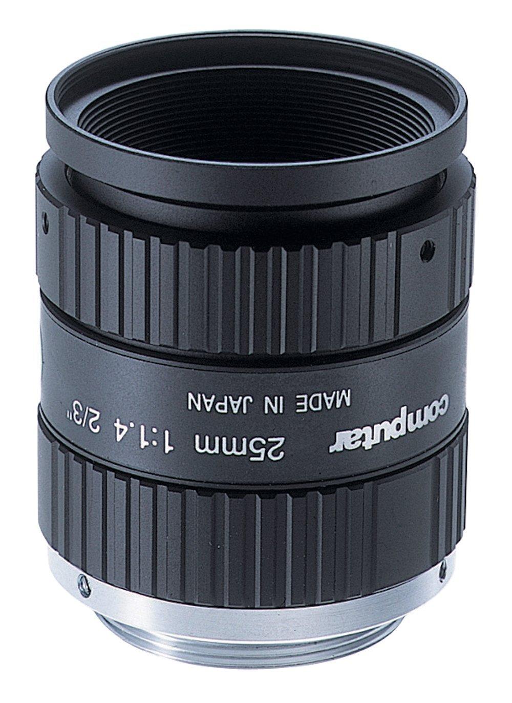 COMPUTAR M2514-MP2 2/3'' 25mm f1.4 w/locking iris & focus, megapixel, C-mount by CBC America