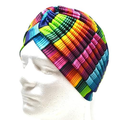97d58331ff Colori estivi bandane Donne musulmano Turbante elastico Copricapo Signora  Chemo Avvolgere i capelli Beanie Copricapo Hijib Fascia per capelli Anche  per il ...