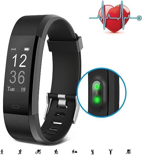 Pulsera Inteligente, SAVFY Pulsera Bluetooth con 14 Modos de ...