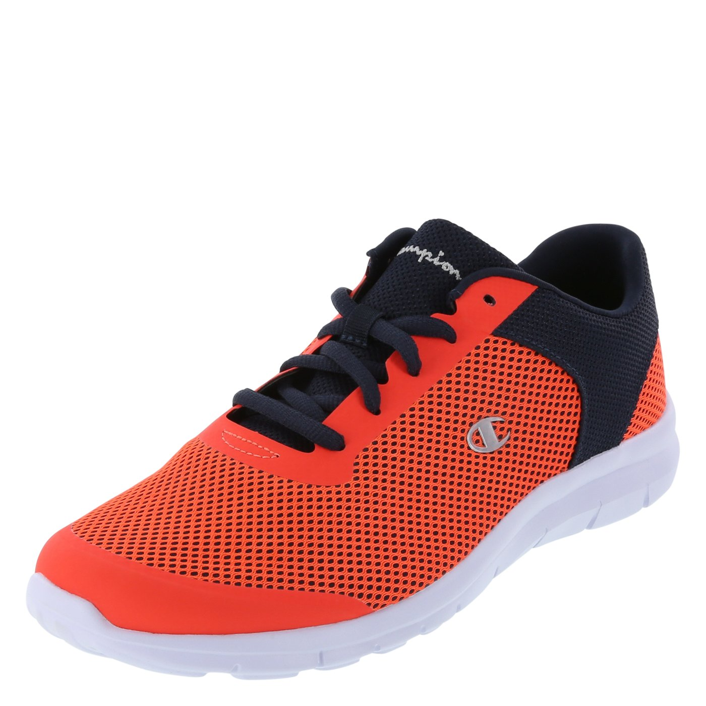 Champion Orange Navy Men's Gusto Performance Cross Trainer 13 Regular by Champion