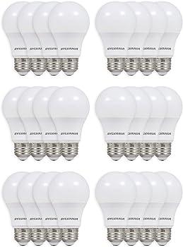 24-Pack Sylvania 8.5W (60W Equivalent) A19 LED Light Bulb