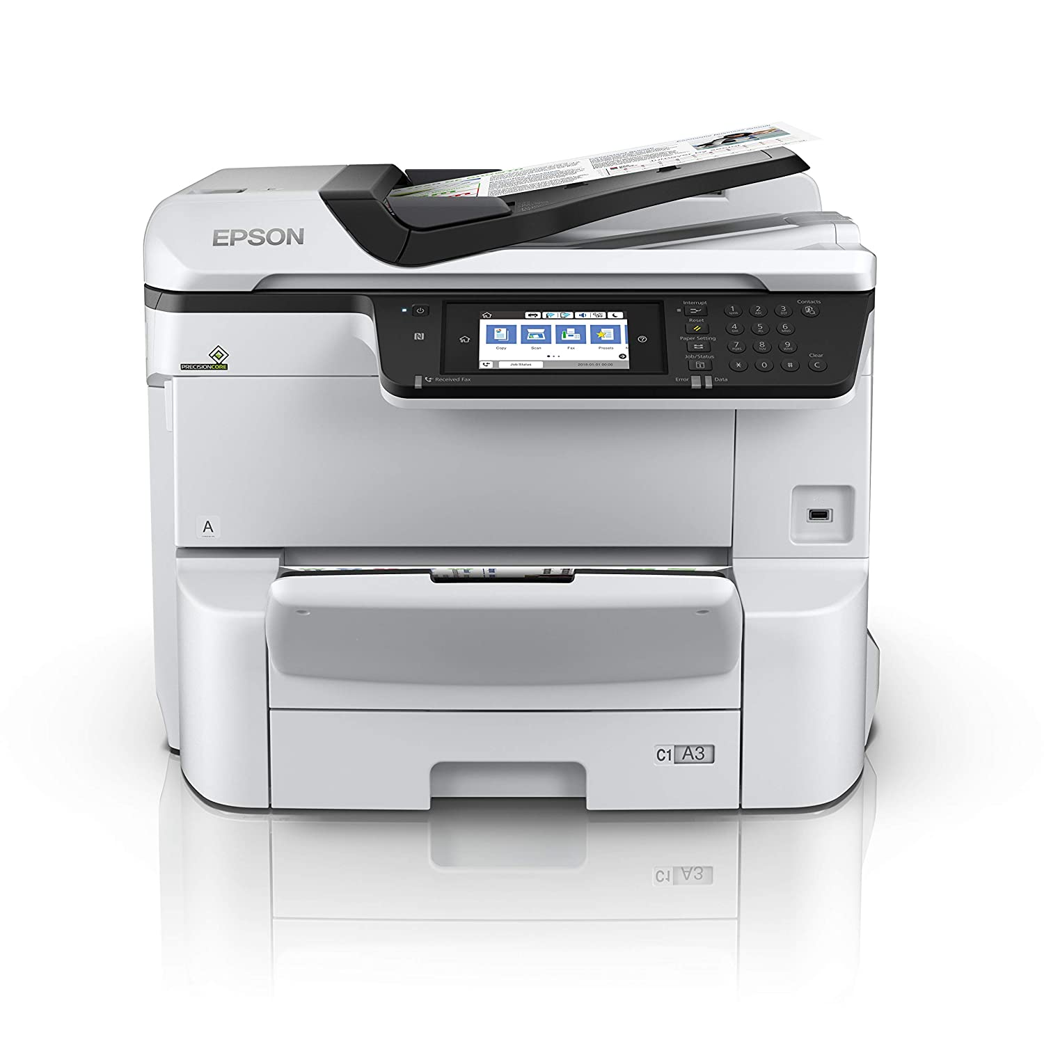 Epson Workforce Pro WF-C8690DWF Inyección de Tinta 35 ppm ...