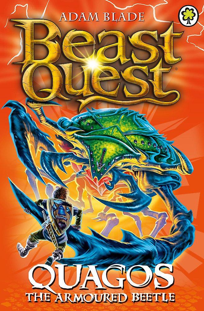 Read Online Beast Quest: 86: Quagos the Armoured Beetle ebook