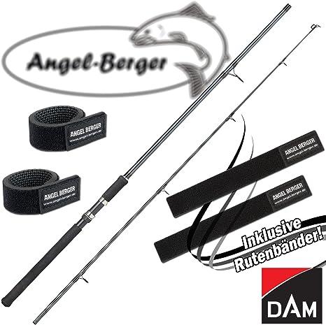 Dam Camaro eel 2,70m//30-60g aalrute motivo caña de pescar con luz quiebro soporte aalangel