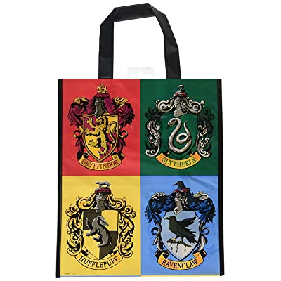 "Large Plastic Harry Potter Goodie Bag, 13"" x 11"": Toys & Games"