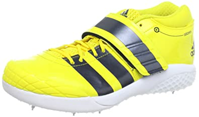Adidas Adizero Javelin 2 Spikes - 8.5 - Yellow