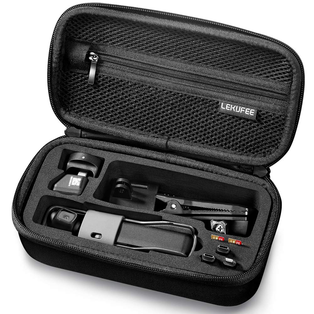Lekufee Hard Carrying Case Compatible with DJI Osmo Pocket and More Accessories by Lekufee
