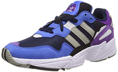 the best attitude 0df7a 952f5 adidas Yung-96, Chaussures de Gymnastique Homme, Bleu Collegiate Navy Sesame