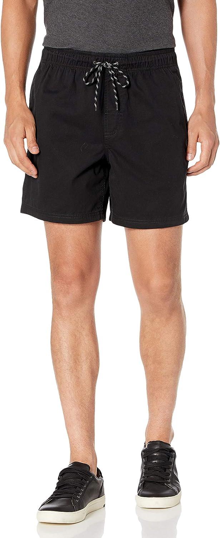 "Essentials Men's 6"" Inseam Drawstring Walk Short: Clothing"