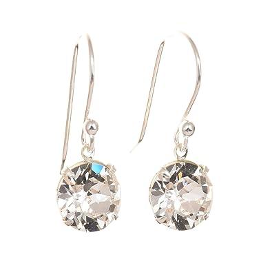 Arpoador Sterling elegant Exquisite Crystal Elements Drop Earings for Women yDcBi8