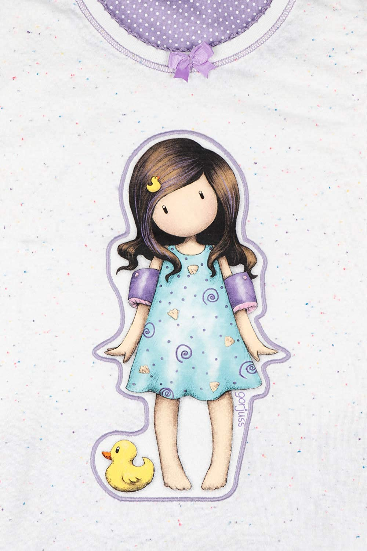 Pigiama Bambina Little Duck Manica Corta 54473-0