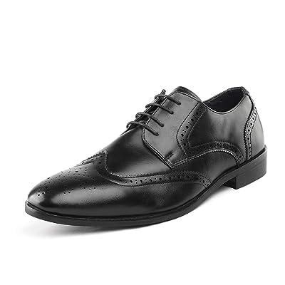 Amazon.com | Bruno Marc Men's HUTCHINGSON Dress Shoes | Oxfords