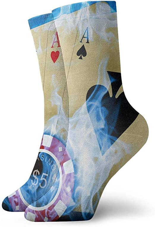 Indian Floral Paisley Crazy Socks Soft Breathable Casual Socks For Sports Athletic Running