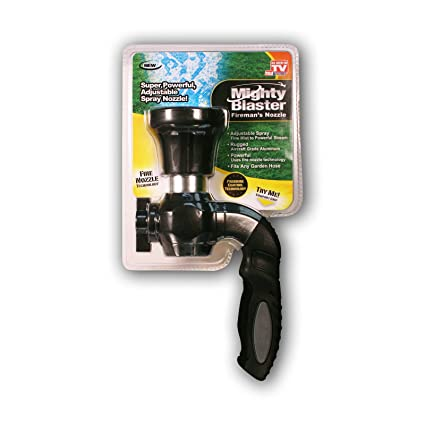 Mighty Blaster Hose Nozzle Garden Sprayer - by BulbHead - Power Wash and Water Your  sc 1 st  Amazon.com & Amazon.com : Mighty Blaster Hose Nozzle Garden Sprayer - by ...