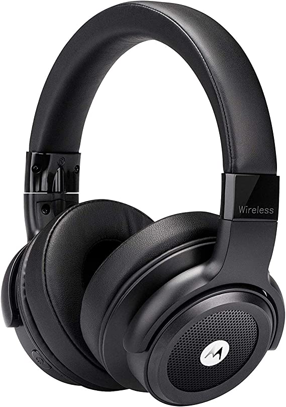 Motorola Escape 800 Wireless Active Noise Cancelling Headphones - ANC Bluetooth Headset with Mic