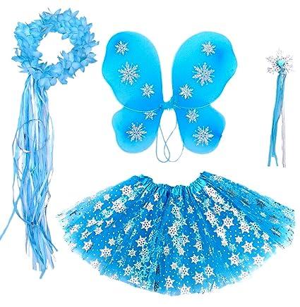 Amazon.com: Frozen Niñas Disfraz de hadas (Edad ...