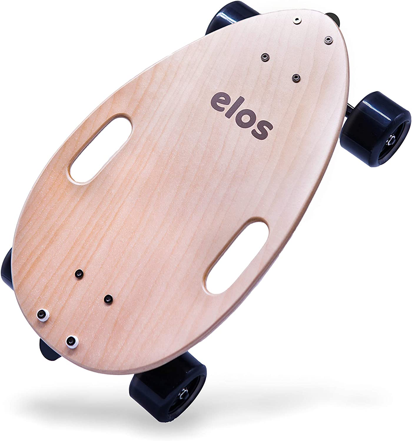 elos Skateboard Complete Lightweight – Mini Longboard Cruiser Skateboard Built for Beginners and Urban commuters. Wide and Stable Skateboard Deck. Non-Electric. Campus Board.