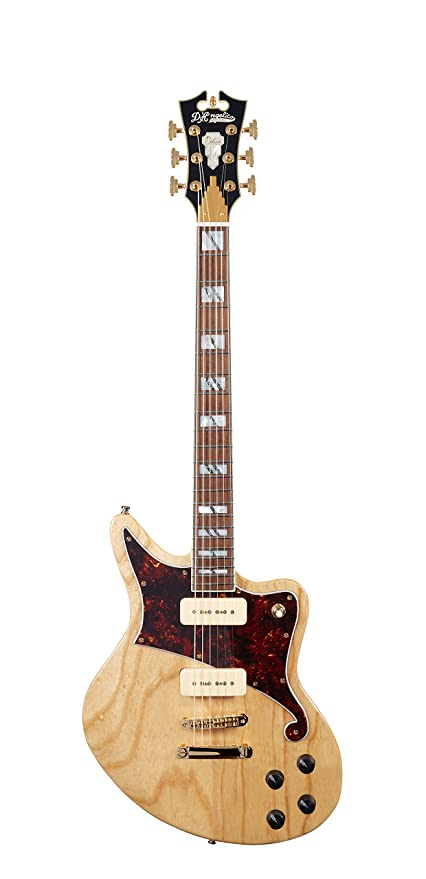 Amazon com: D'Angelico Deluxe Bedford Electric Guitar w