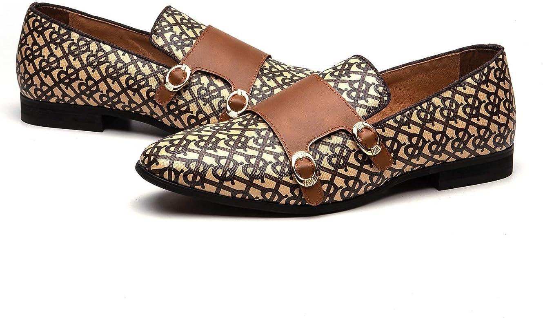 MEIJIANA Hommes De Mode Mocassins Chaussures Habillées Chaussures De Fête Tuxedo Mocassins De Luxe Mocassins Chaussures pour Hommes De Mariage Chaussures Douces