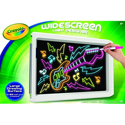 Crayola Widescreen Light Designer, (74-7053): Toys & Games
