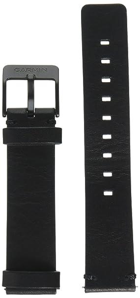 Garmin - Bracelet de Rechange pour Montres Vivoactive 3 - Cuir - Noir: Amazon.fr: GPS & Auto