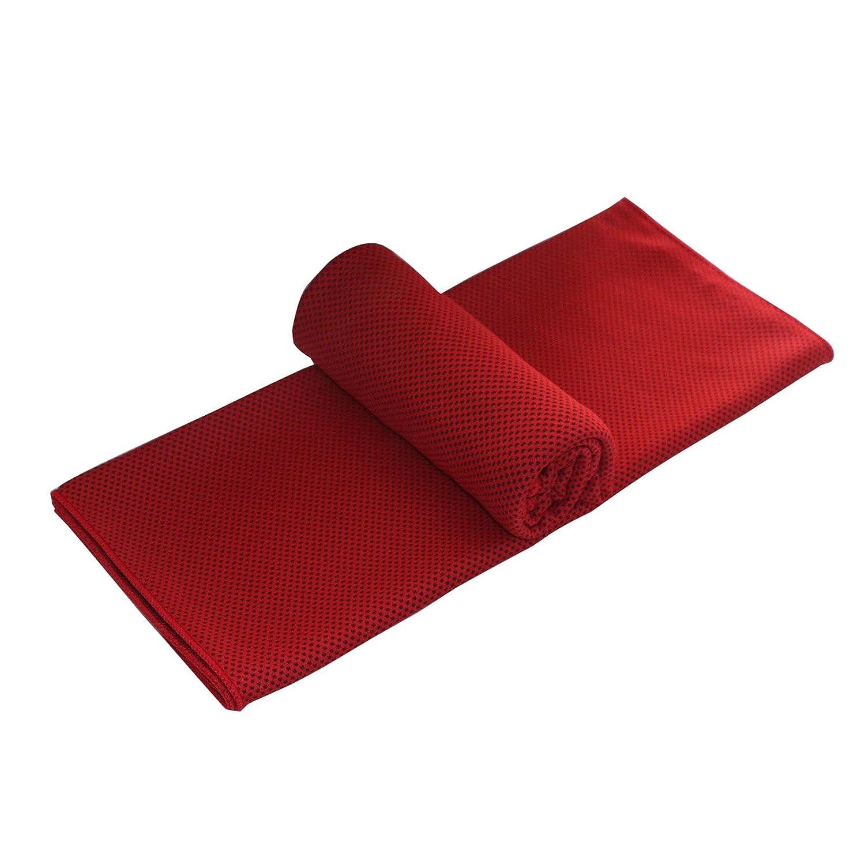 de excursi/ón acampadas de viaje extragrande pilates y llevar a la playa superabsorbente Toalla de microfibra de Elonglin para el gimnasio yoga para un alivio instant/áneo de refrigeraci/ón y secado r/ápido ligera
