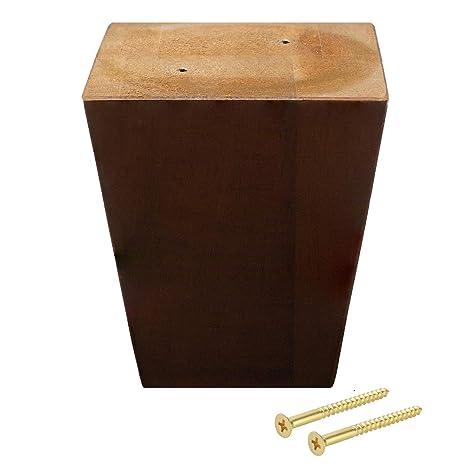 Amazon.com: ComfortStyle patas para muebles, sofá otomano y ...