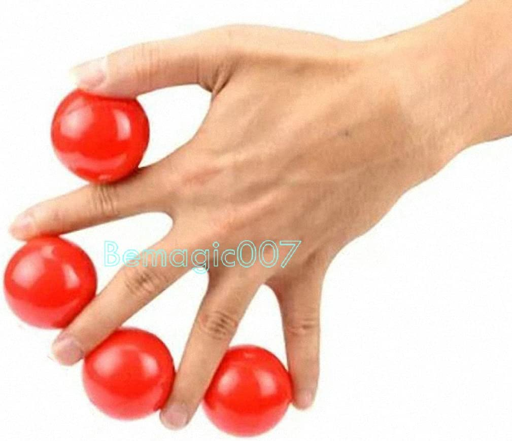 Multiplying Balls Solid Red Stage Magic Tricks