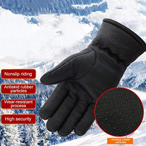Snowboard Ciclismo Senderismo y Otros Deportes Invernales al Aire Libre BESTZY Guantes T/érmicos de Invierno para Hombre y Mujer Guantes Esqu/í con Pantalla T/áctil para Esqu/í