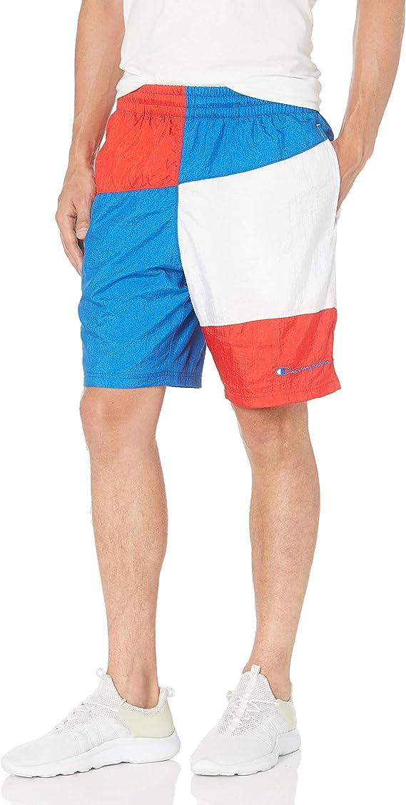 Men/'s Champion Life Crinkle Shorts Workout Basketball Classic Fit Pockets Nylon