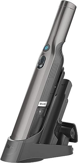 مكنسة كهربائية محمولة باليد من شارك WV201 واندفاك - خفيفة الوزن 1.4 باوند تتميز بشفط قوي وقاعدة شحن وامكانية تفريغ المحتوى بلمسة واحدة وعبوة غبار قابلة للفصل