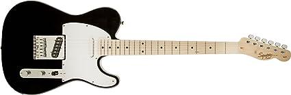 Squier de Fender - Guitarra eléctrica Squier Fender Affinity Telecaster para zurdos, con diapasón de arce - rubio caramelo: Amazon.es: Instrumentos musicales