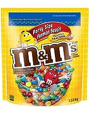 M & M Party Size, Peanut Milk Chocolate Candies - 1.58 Kg