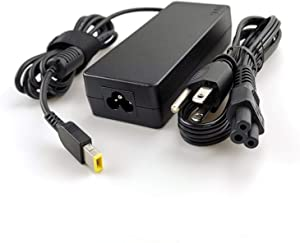 Lenovo Laptop Charger 90W Slim tip AC Power Adapter(Power Supply) with 3 Prong Power Cord for Lenovo ThinkPad Yoga 260 370,T470 T450s T460s T440s T450 E570 X1 Carbon, X1 Yoga 3rd