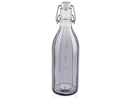 Leifheit 36330 - Botella tallada 0.5 L, gris