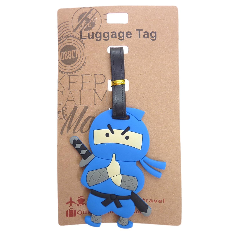 Toki Shinobi Ninja Luggage Tag ID, Bag ID Tag