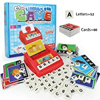 Matching Letter Game, Alphabet Reading & Spelling, Words & Objects, Number & Color...