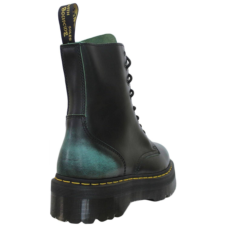 Dr. Leather Martens Mens Jadon 8-Eyelet Leather Dr. Boots Grün b138c0