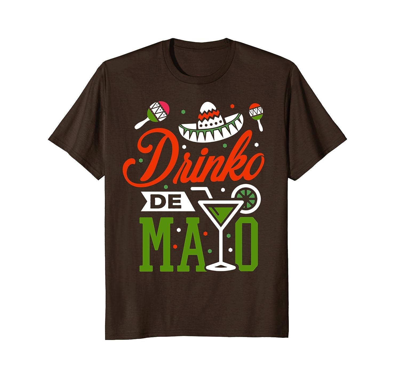 Cinco de Mayo Shirt Mexican Drinko De Mayo T-Shirt May 5th-alottee gift