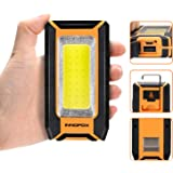 LED Rechargeable Magnetic Work Light 40W 1500Lumens, Hanging Hook 3 Lighting Modes, Portable Work Light and Job Site Lighting