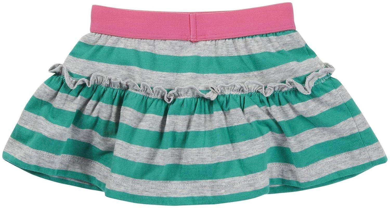 2T Carters Knit Skort Green Stripe
